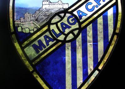 LOGO OF MALAGA FOOTBALL CLUB 40 X 30CM 2012