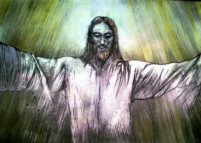 THE RISEN CHRIST 55 X 30 CM
